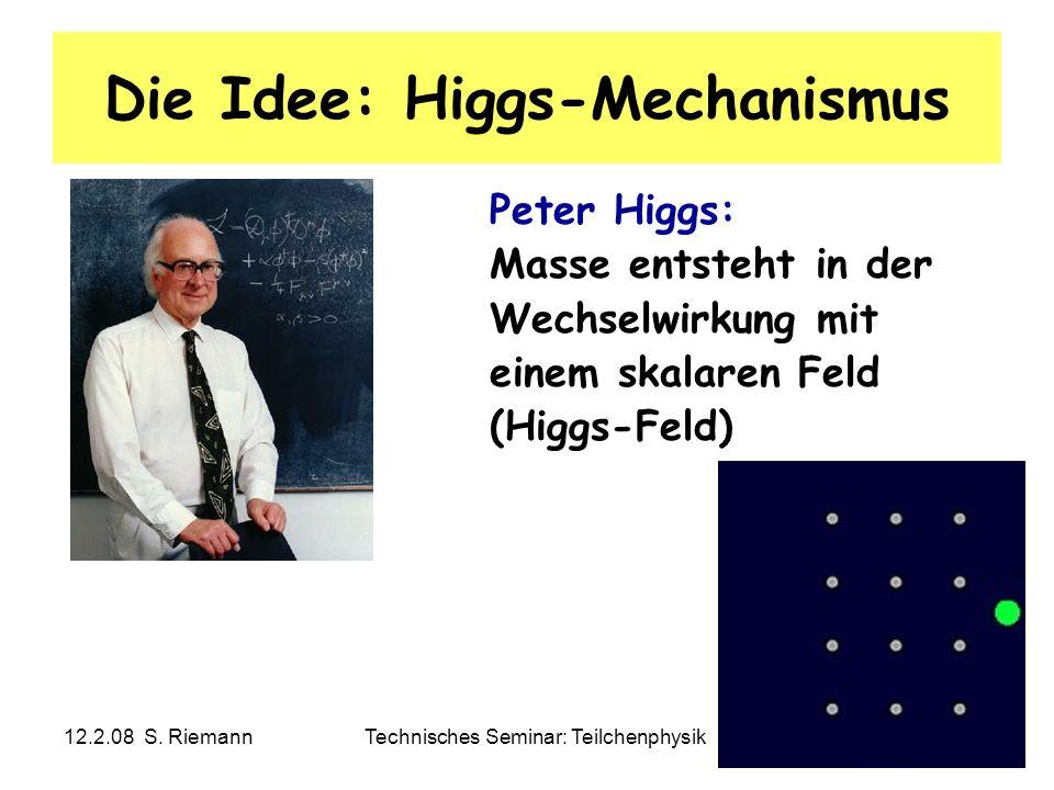 Die Idee: Higgs-Mechanismus