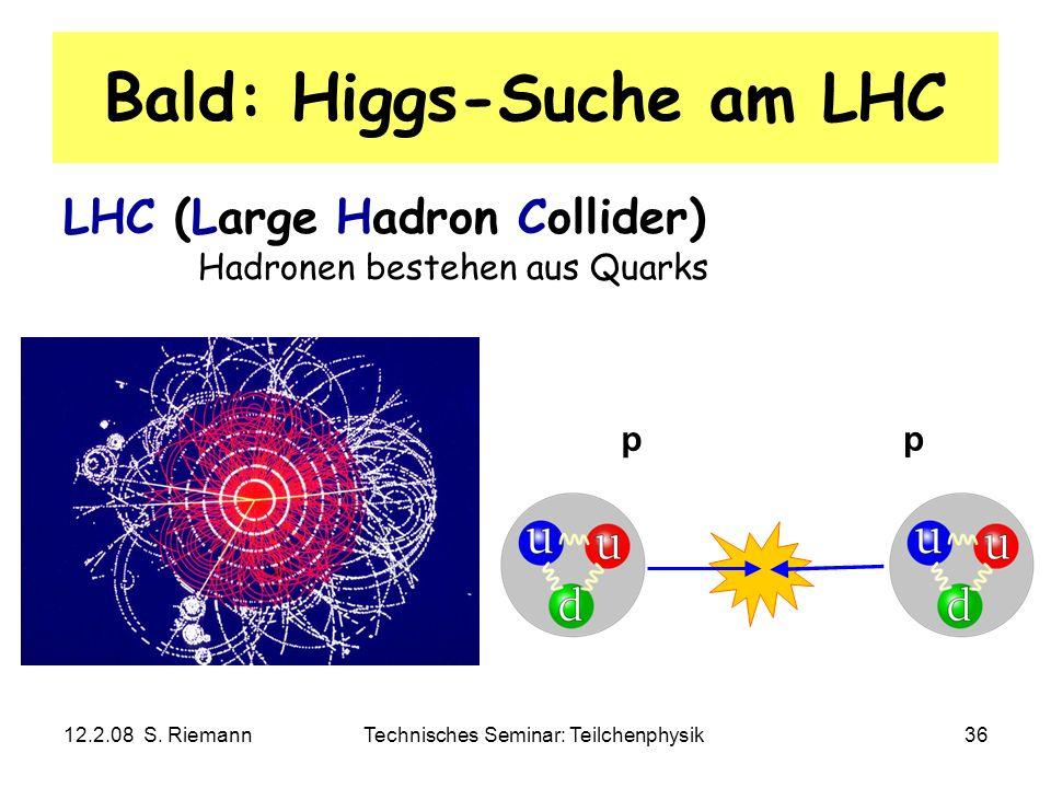 Bald: Higgs-Suche am LHC