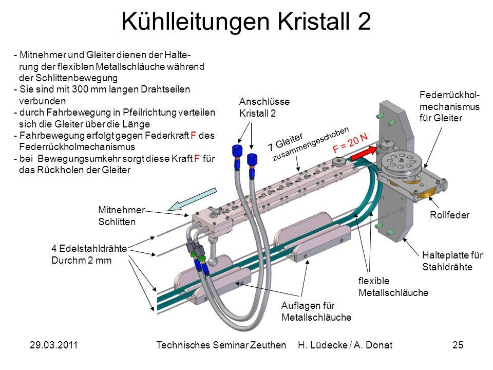 Kühlleitungen Kristall 2