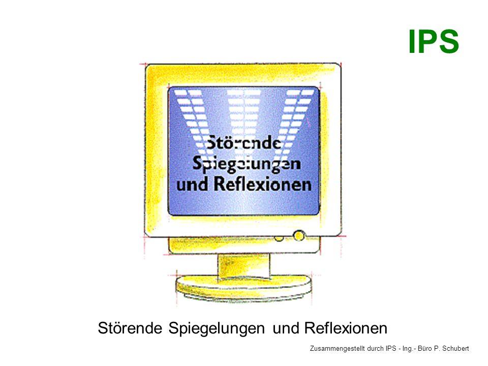 IPS Störende Spiegelungen und Reflexionen