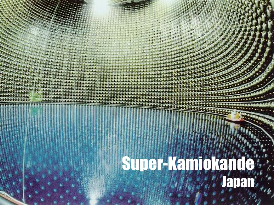 Super-Kamiokande Japan