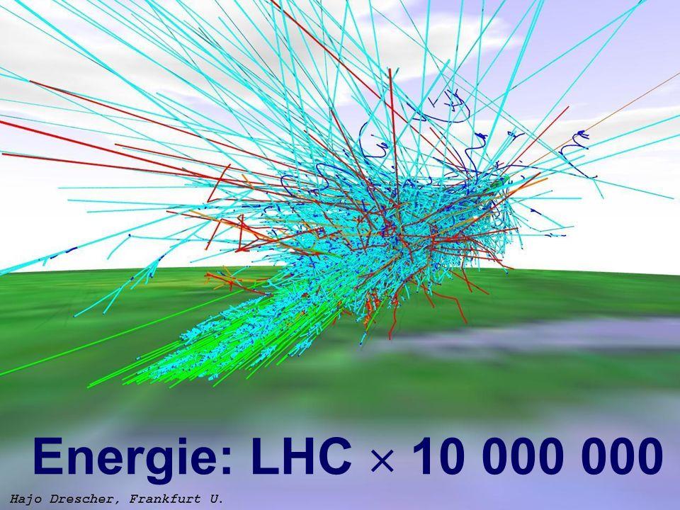 Energie: LHC  10 000 000