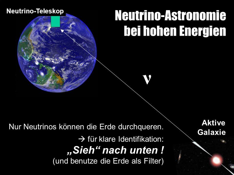 Neutrino-Astronomie bei hohen Energien
