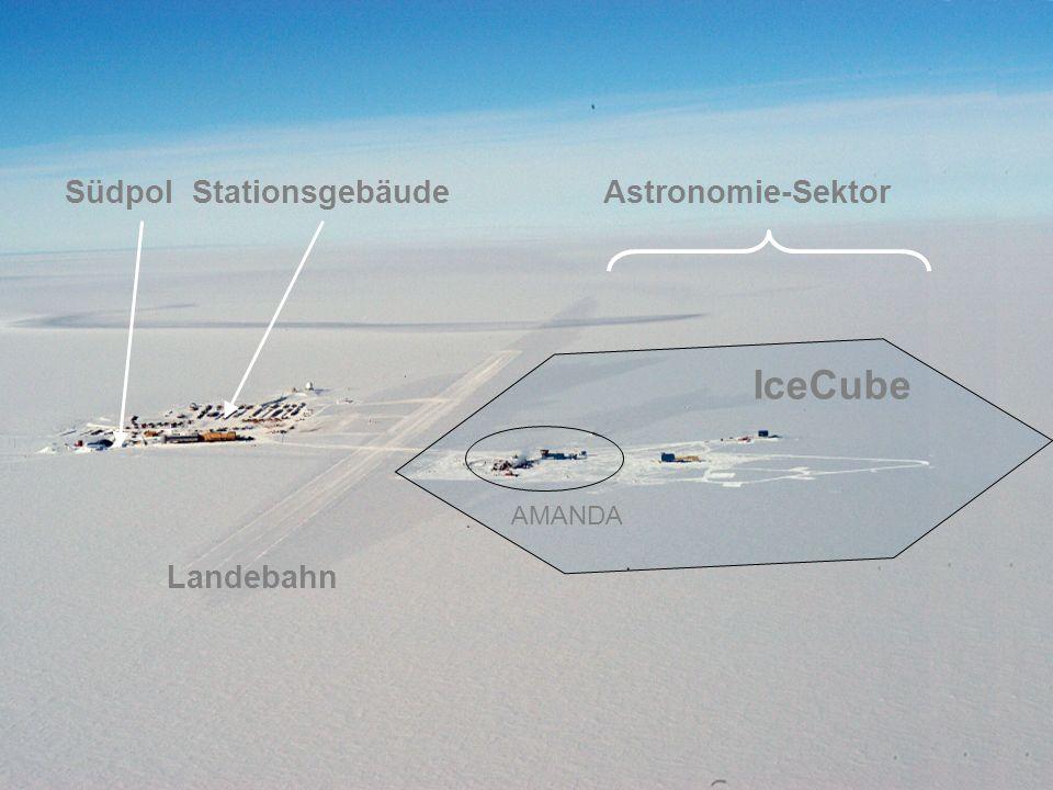 Südpol Stationsgebäude Astronomie-Sektor