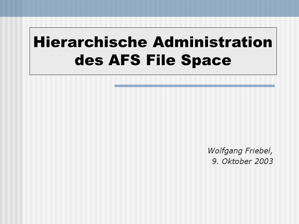 Wolfgang Friebel, 9. Oktober 2003