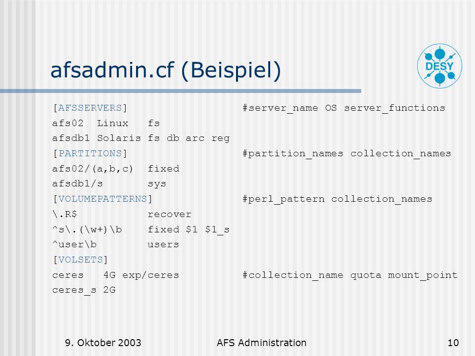 afsadmin.cf (Beispiel)