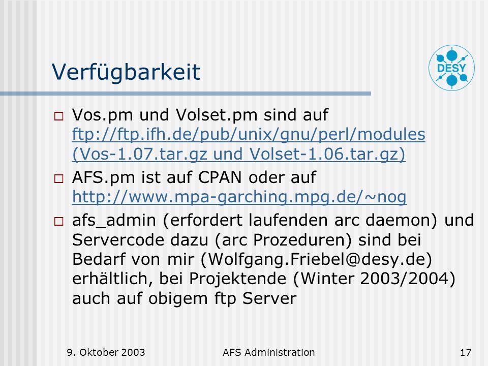 Verfügbarkeit Vos.pm und Volset.pm sind auf ftp://ftp.ifh.de/pub/unix/gnu/perl/modules (Vos-1.07.tar.gz und Volset-1.06.tar.gz)