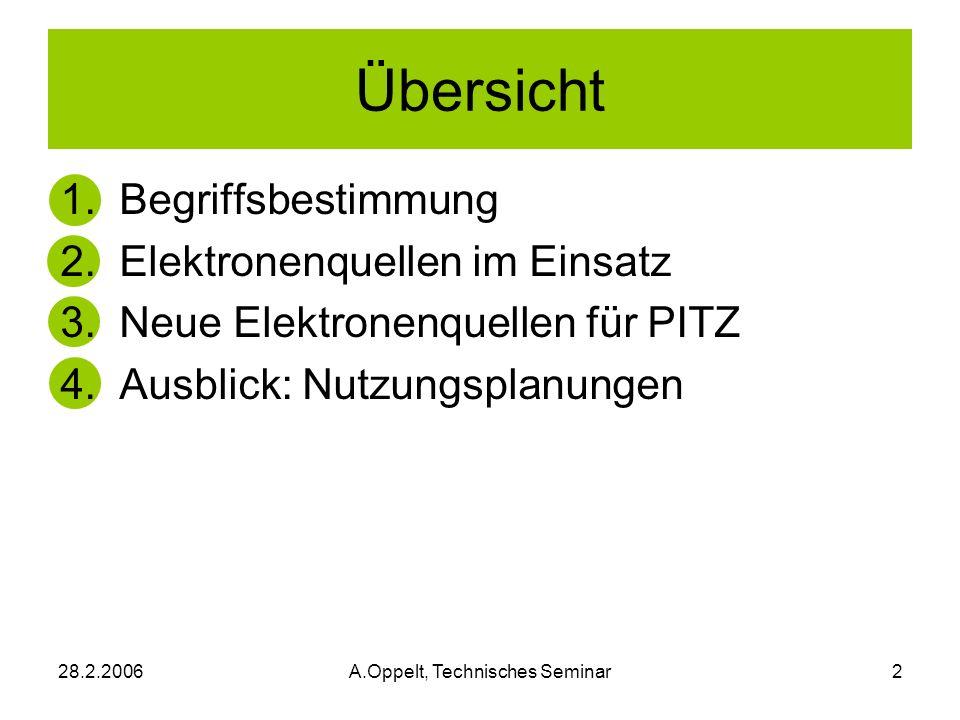 A.Oppelt, Technisches Seminar