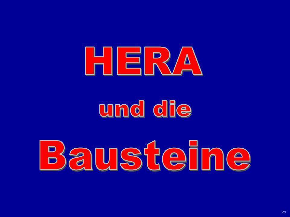HERA und die Bausteine Universität Leipzig Kolloquium 8 Juni 04