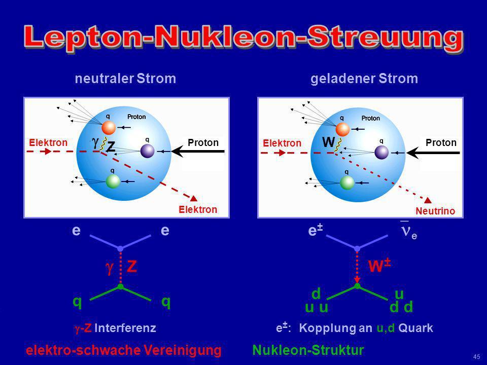Lepton-Nukleon-Streuung