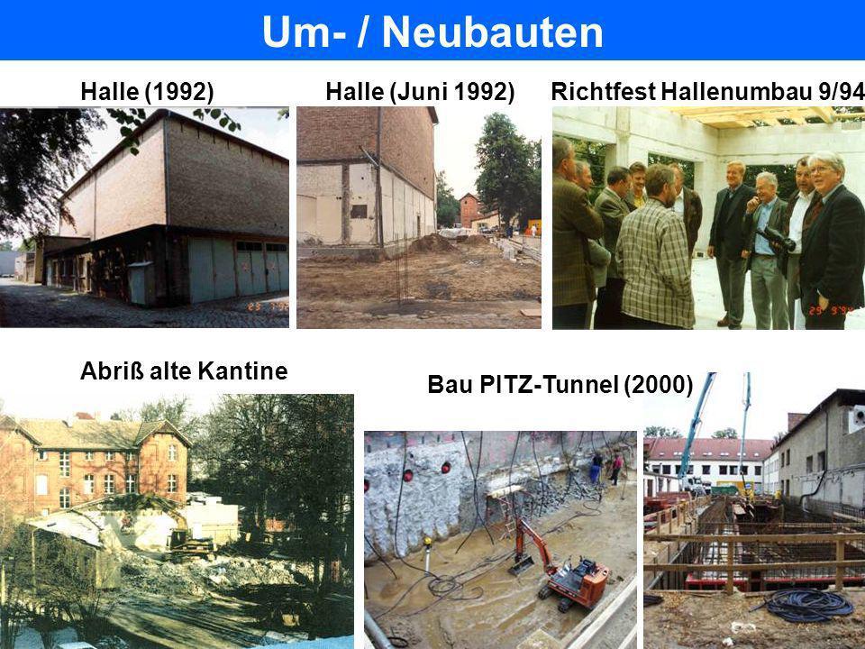 Um- / Neubauten Halle (1992) Halle (Juni 1992)