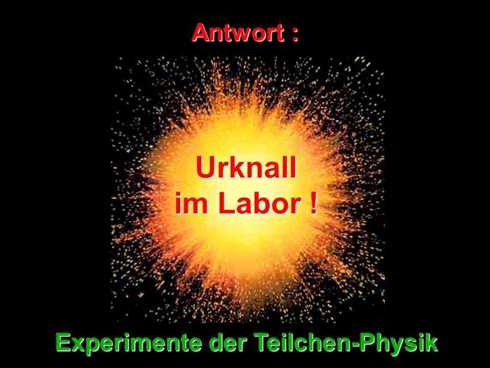 Experimente der Teilchen-Physik