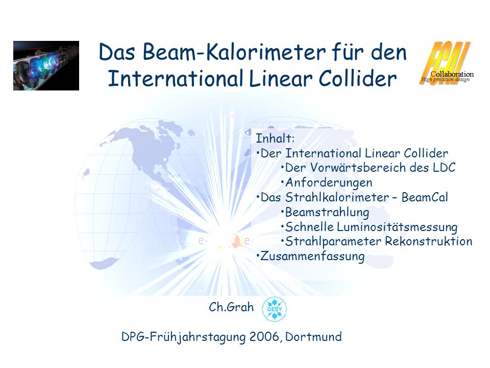 Das Beam-Kalorimeter für den International Linear Collider
