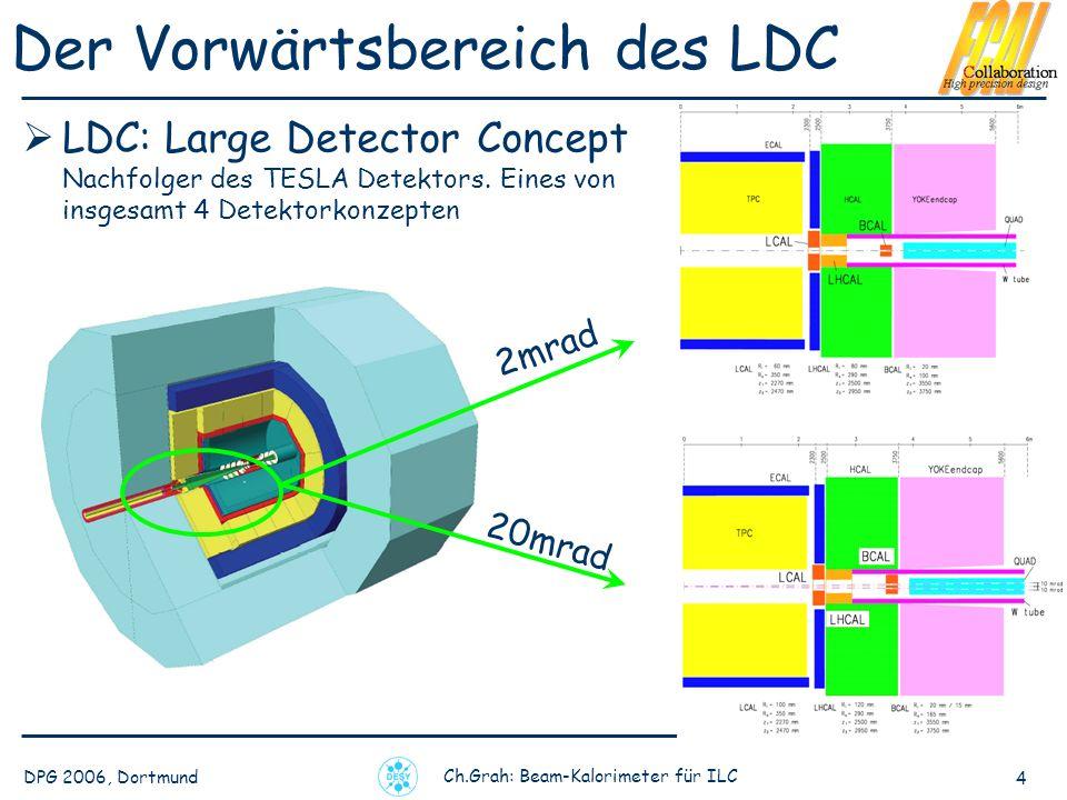 Der Vorwärtsbereich des LDC