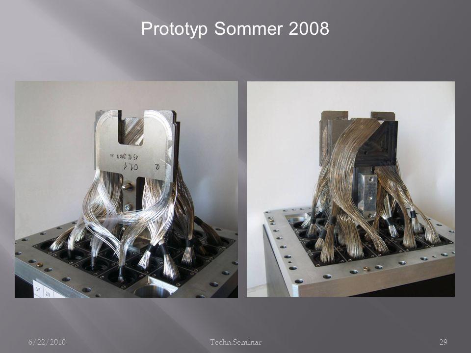 Prototyp Sommer 2008 6/22/2010 Techn.Seminar