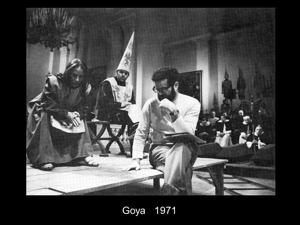 Goya 1971 Konzept ab 1963 ursprünglich nach dem 'Geteilten Himmel'