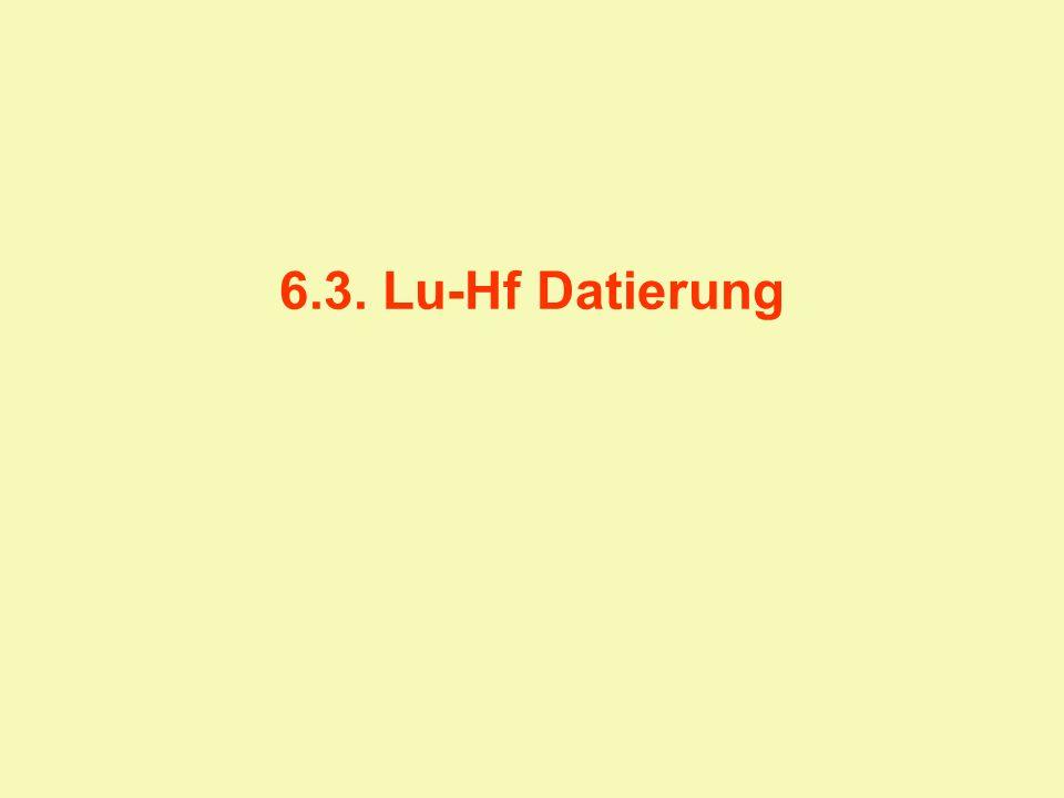 6.3. Lu-Hf Datierung