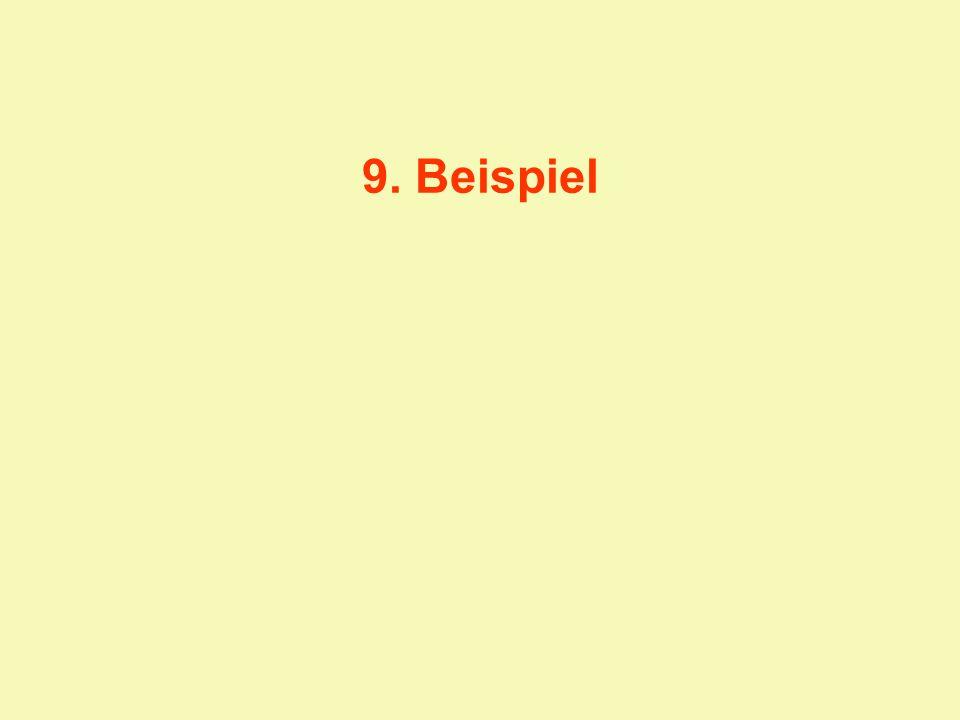 9. Beispiel