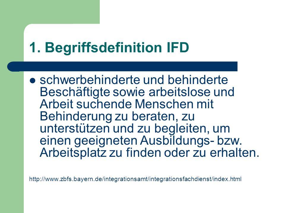 1. Begriffsdefinition IFD