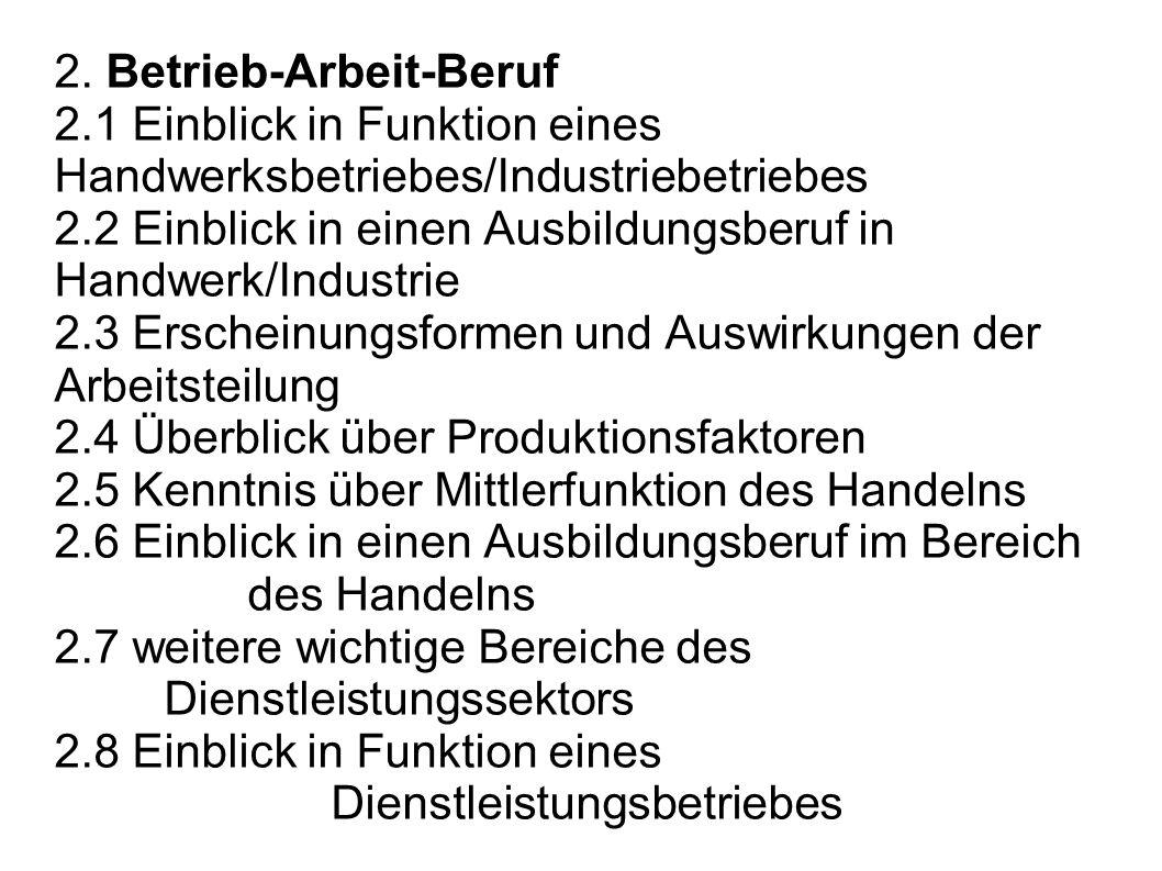 2. Betrieb-Arbeit-Beruf