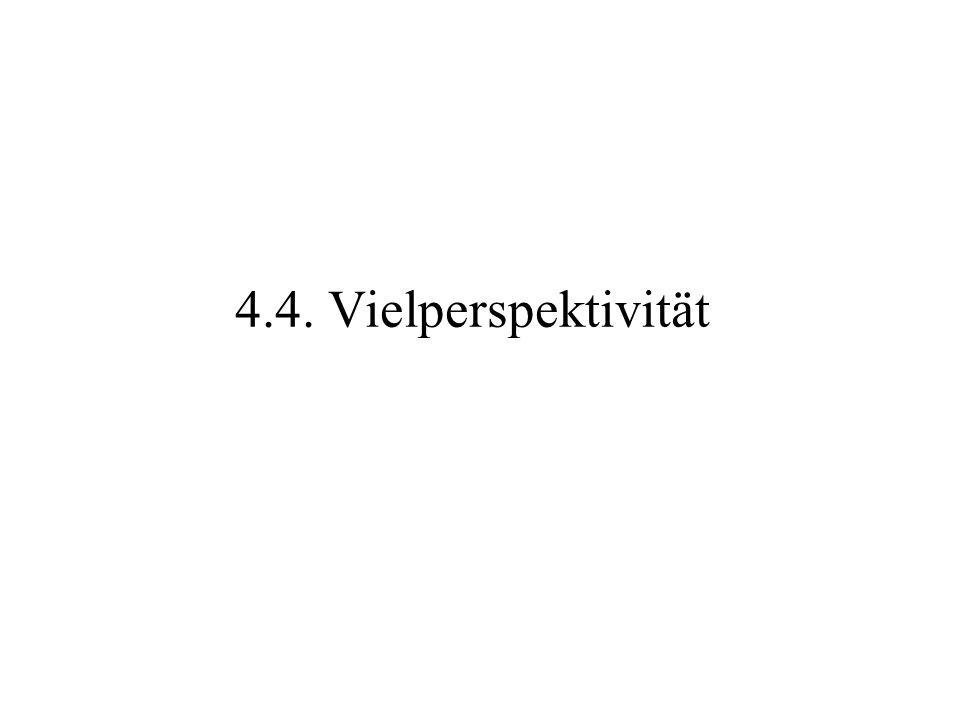4.4. Vielperspektivität