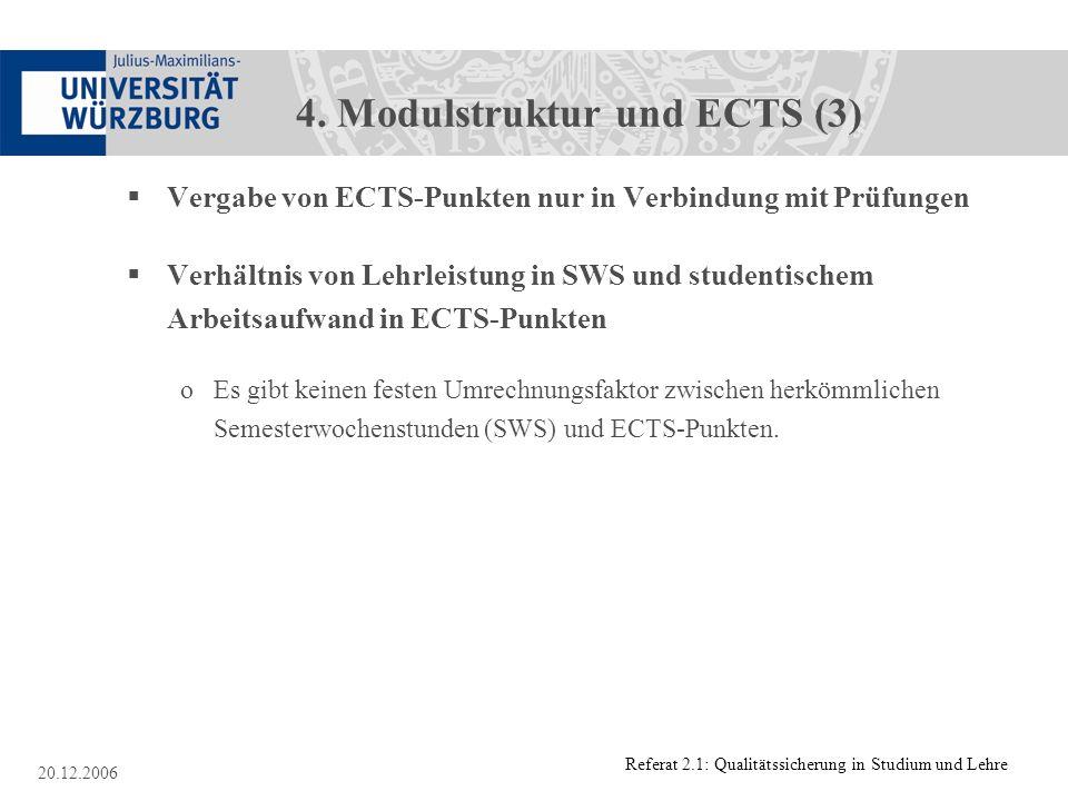 4. Modulstruktur und ECTS (3)