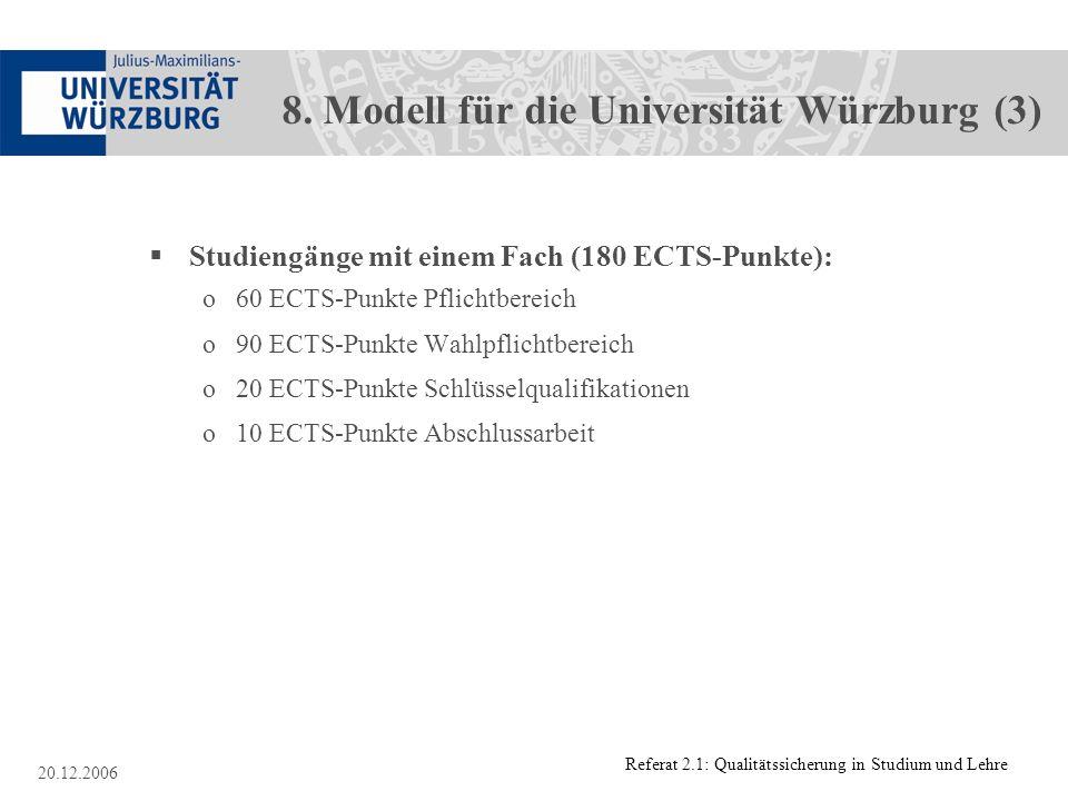 8. Modell für die Universität Würzburg (3)