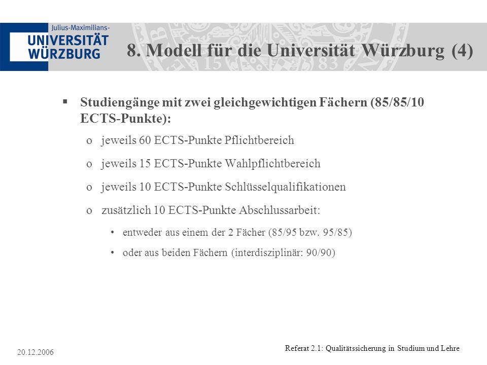 8. Modell für die Universität Würzburg (4)