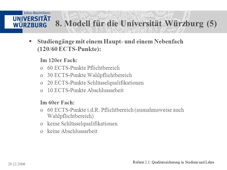 8. Modell für die Universität Würzburg (5)