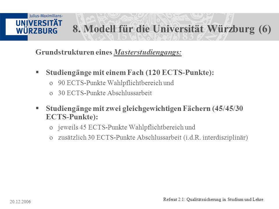 8. Modell für die Universität Würzburg (6)