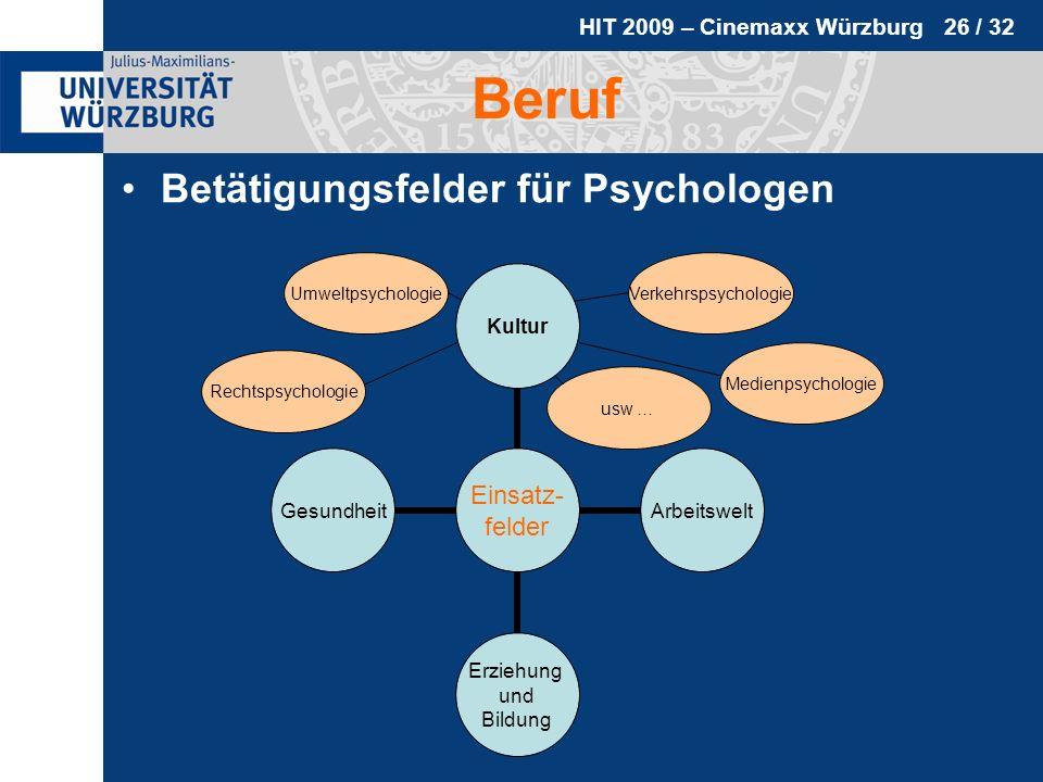 Beruf Betätigungsfelder für Psychologen Umweltpsychologie