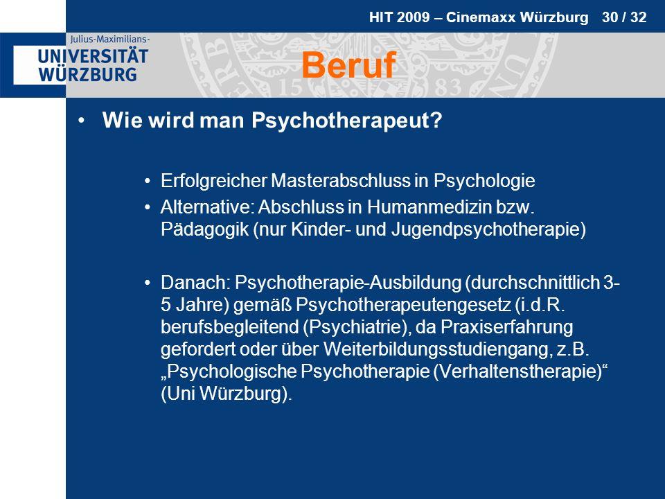 Beruf Wie wird man Psychotherapeut