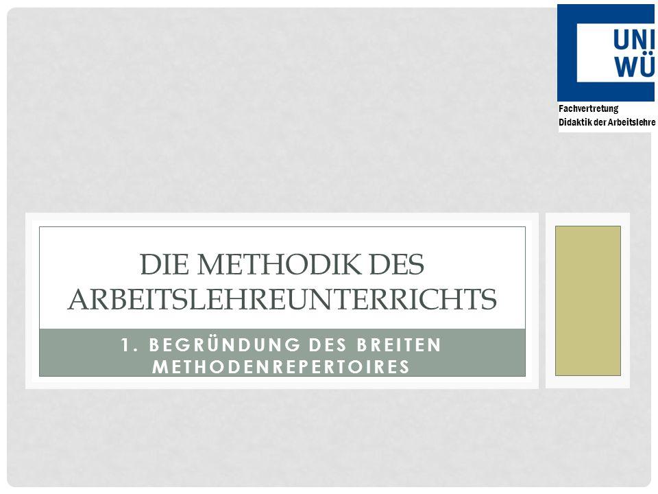 Die Methodik des Arbeitslehreunterrichts