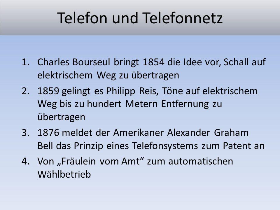 Telefon und Telefonnetz