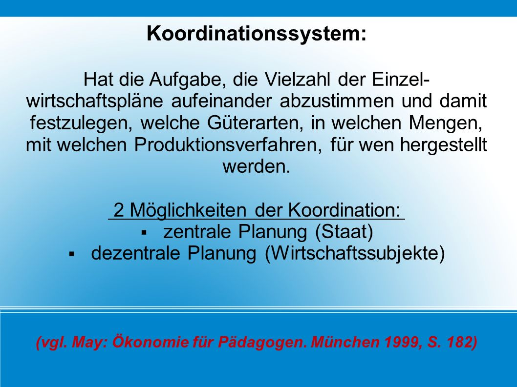 Koordinationssystem: