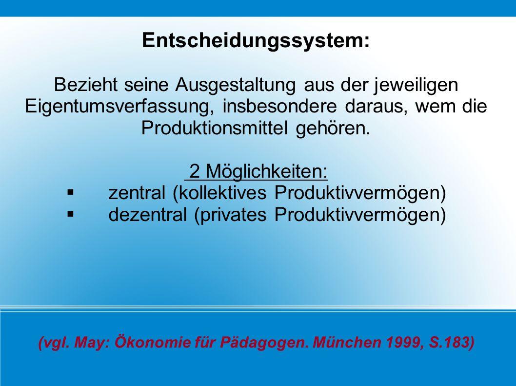 Entscheidungssystem: