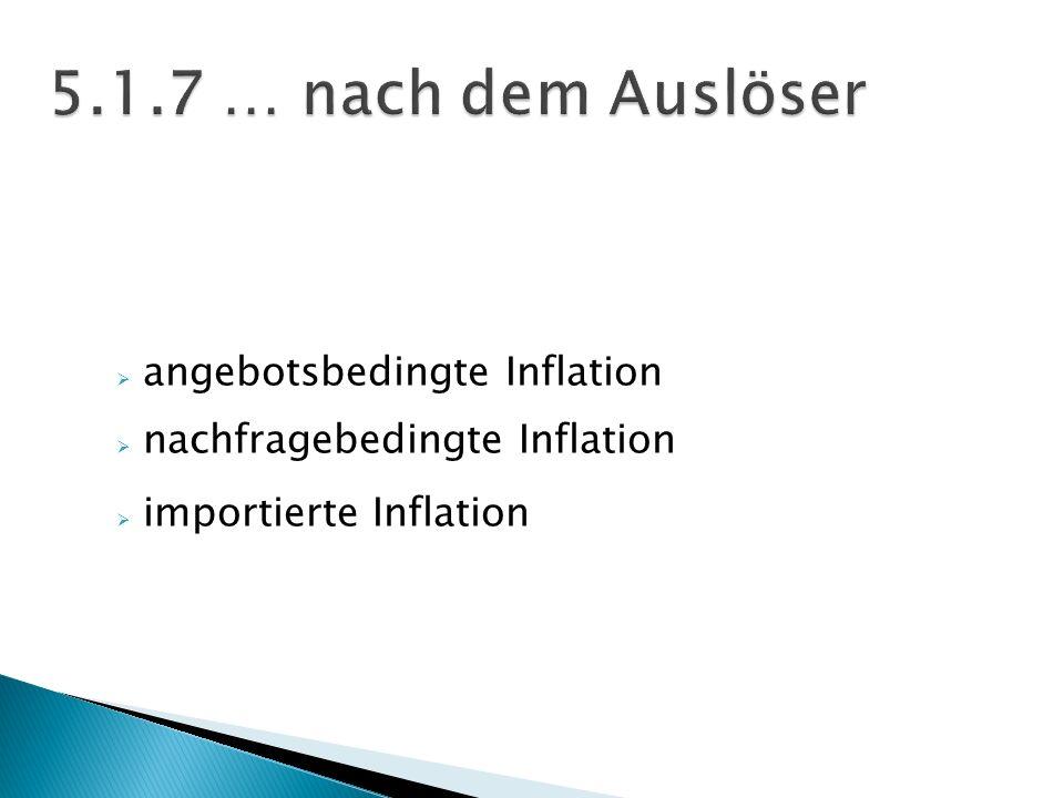 5.1.7 … nach dem Auslöser angebotsbedingte Inflation