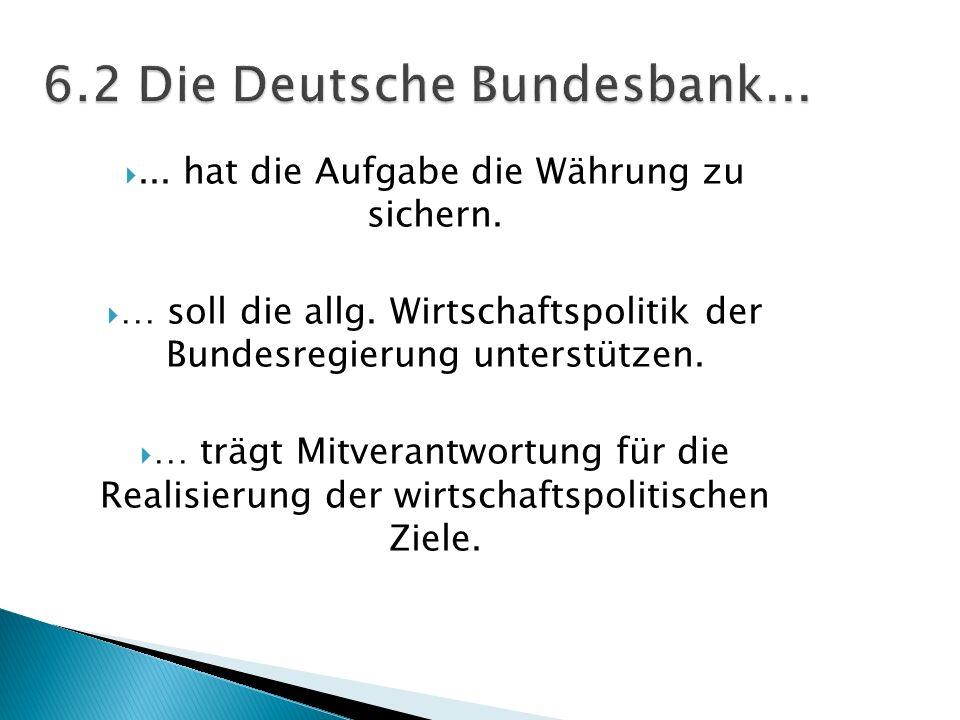 6.2 Die Deutsche Bundesbank...