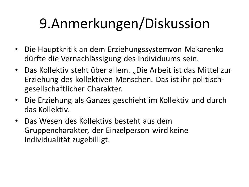 9.Anmerkungen/Diskussion