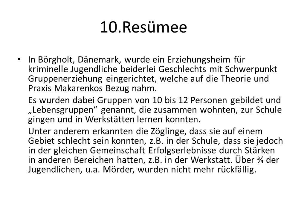 10.Resümee