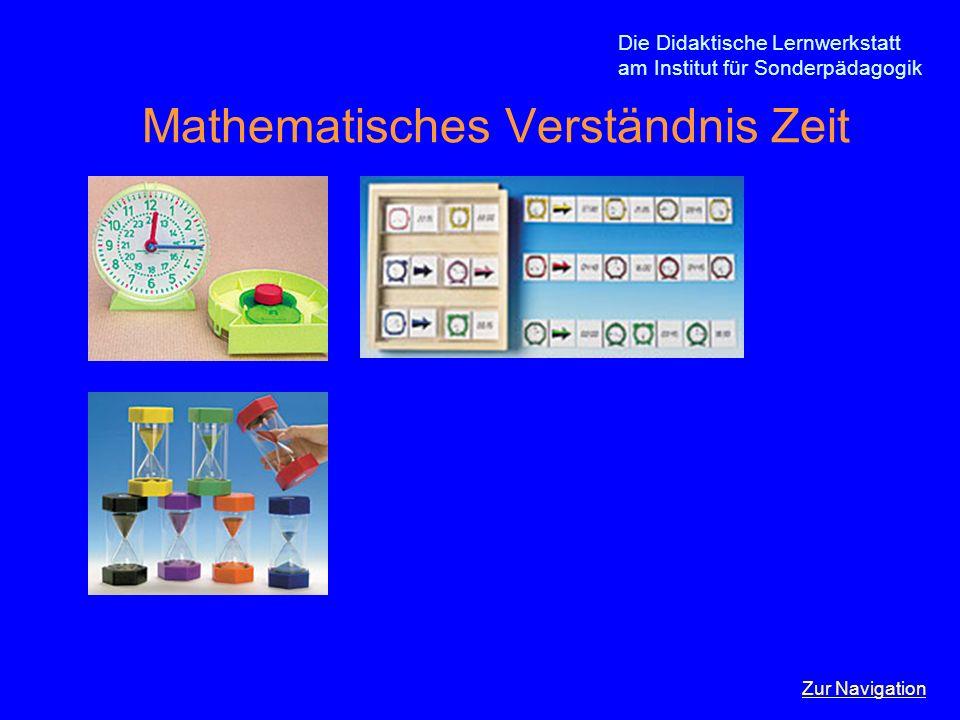 Mathematisches Verständnis Zeit