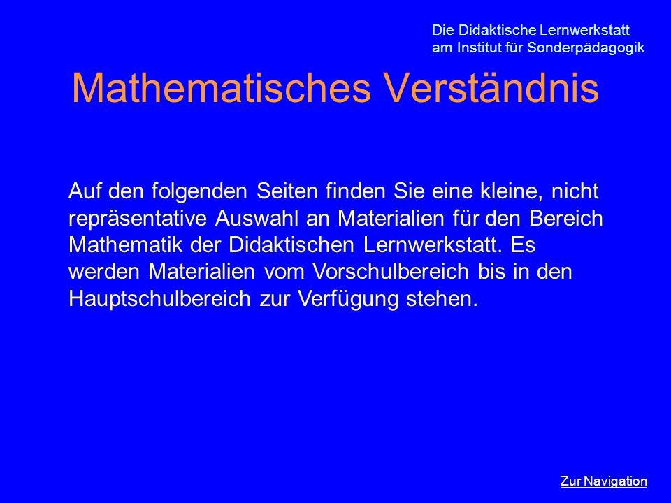 Mathematisches Verständnis