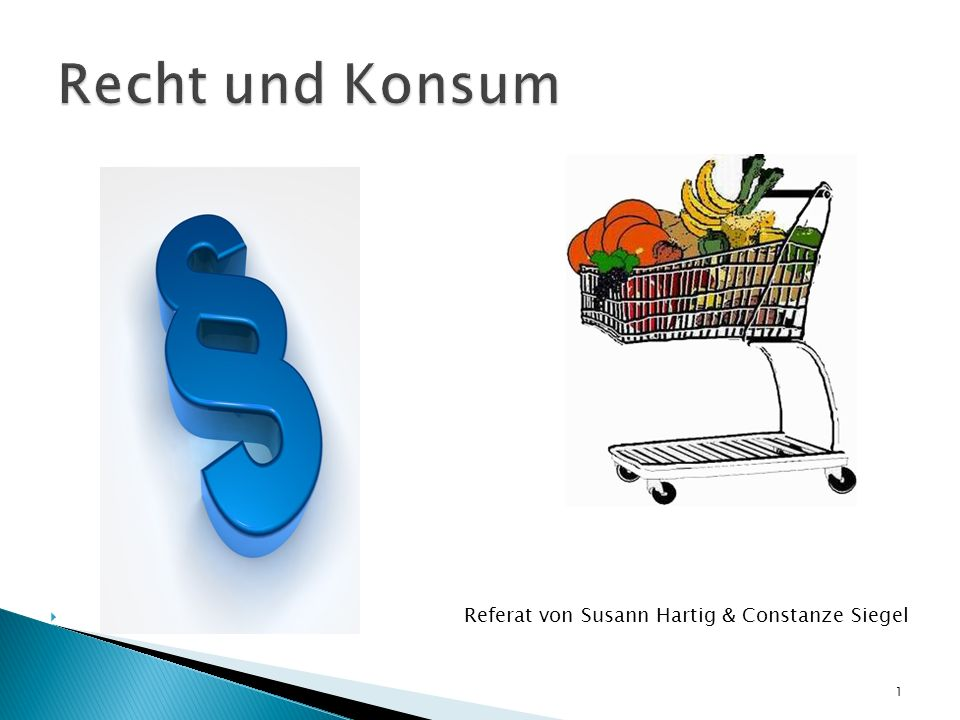 Referat von Susann Hartig & Constanze Siegel