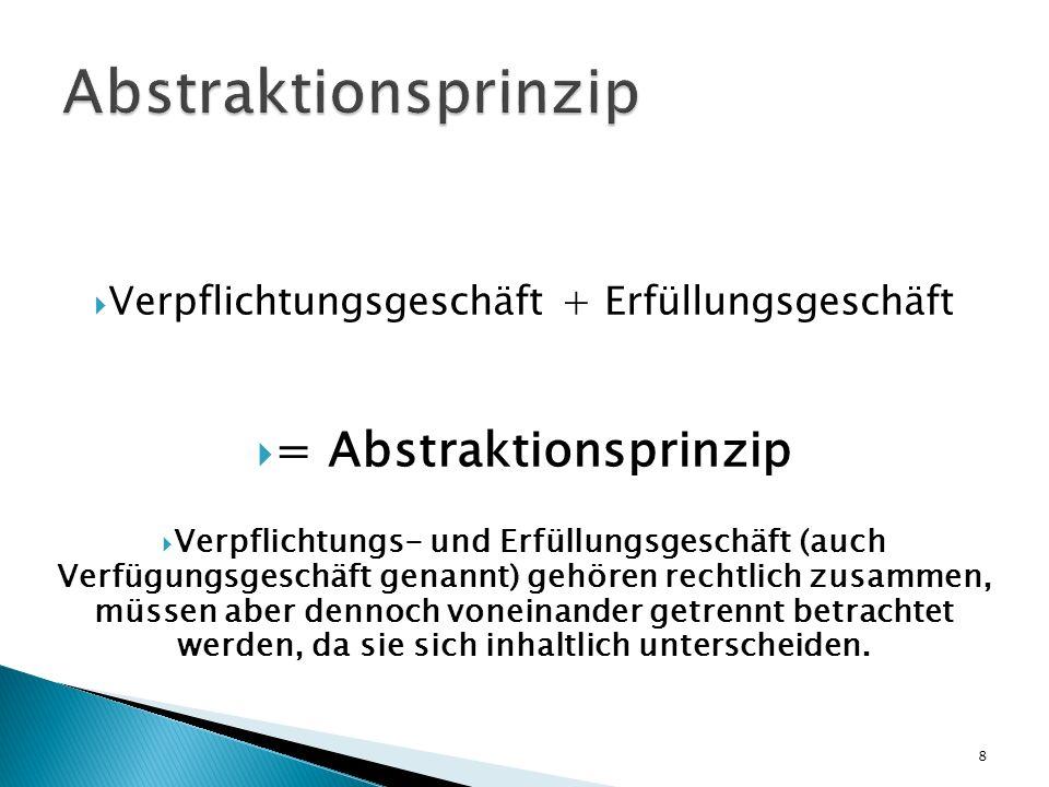= Abstraktionsprinzip