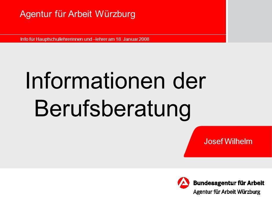 Agentur für Arbeit Würzburg