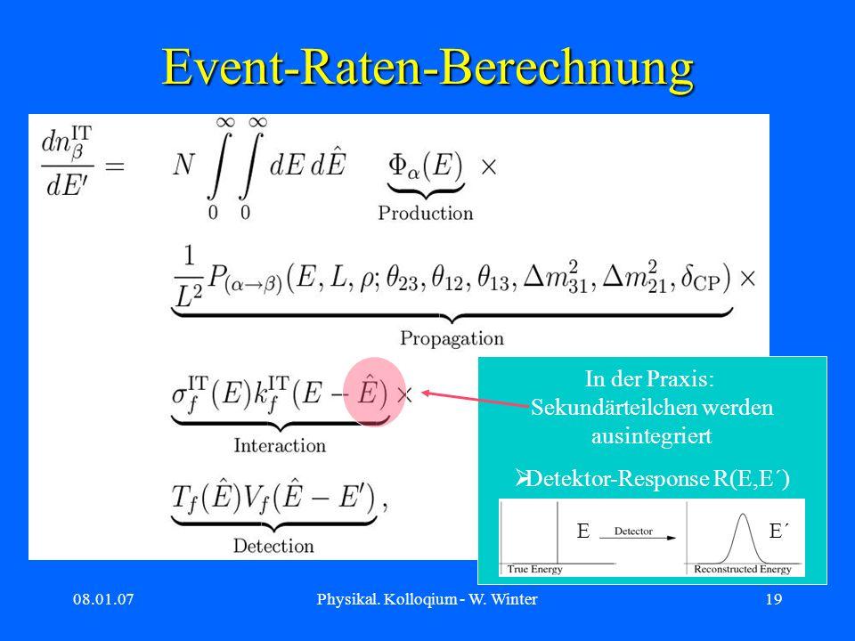 Event-Raten-Berechnung
