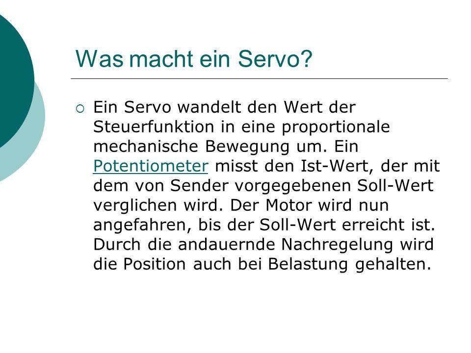Was macht ein Servo