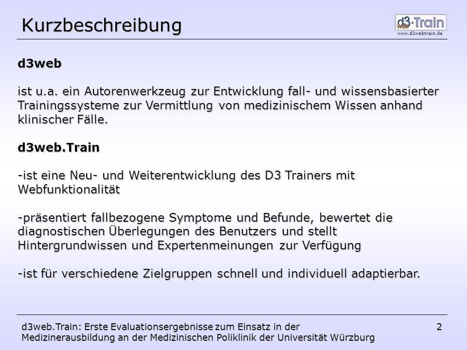 Kurzbeschreibung d3web