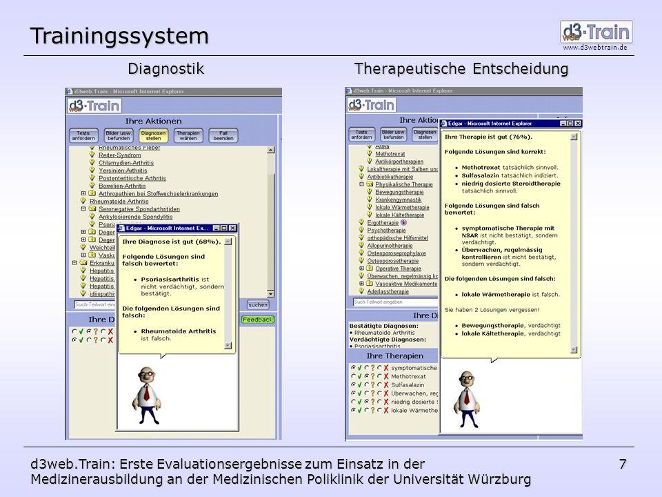 Trainingssystem Diagnostik Therapeutische Entscheidung