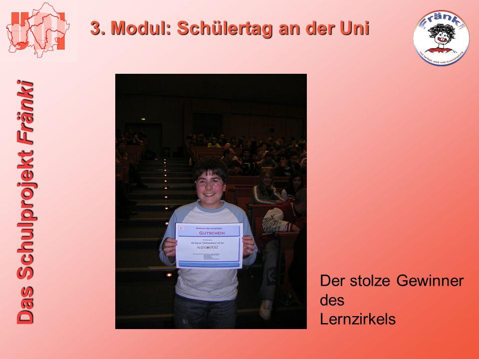 3. Modul: Schülertag an der Uni